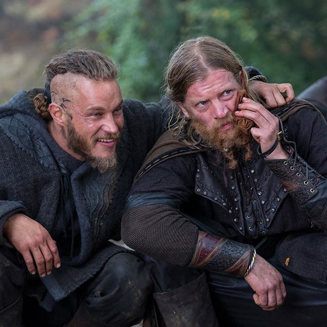 Thinking of old friends. #Vikings