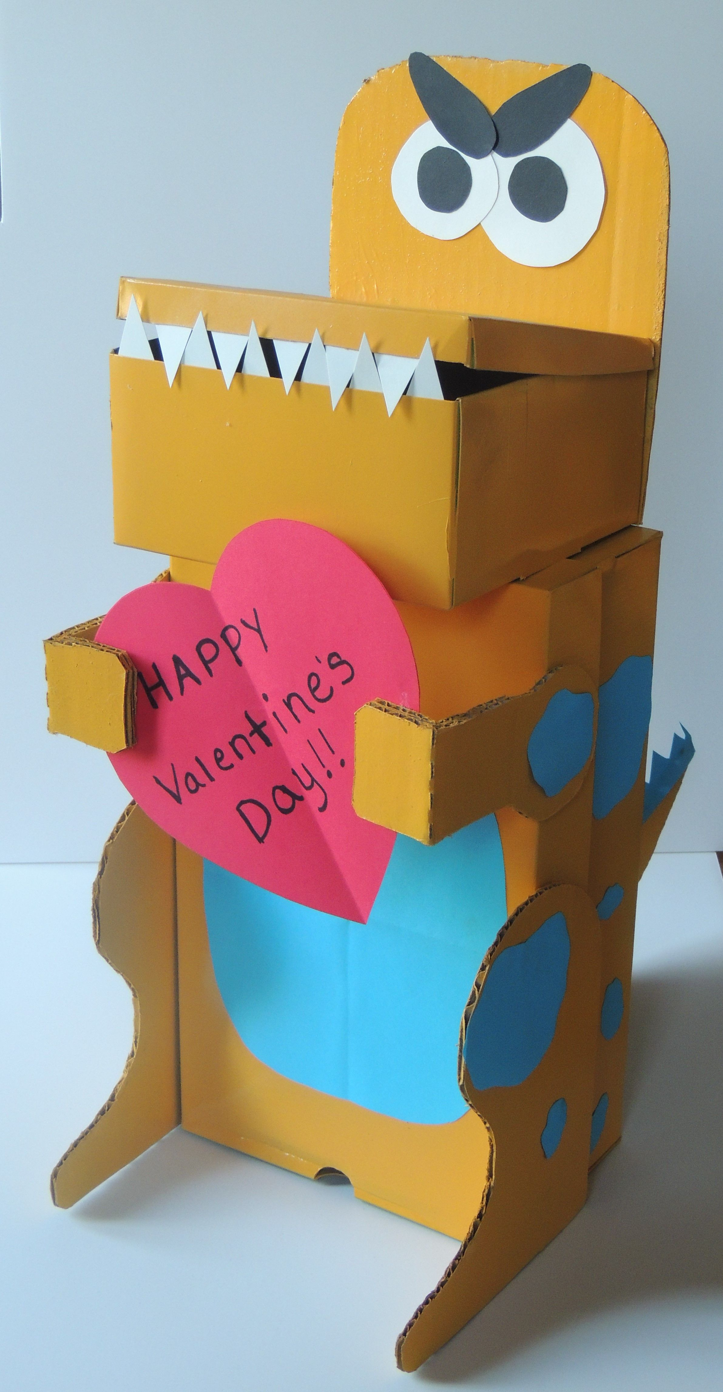 Perfekt Dinosaur Valentines Box Xaviers 2014 Kids Pinterest
