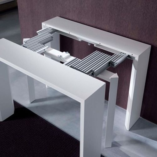 The Goliath Console Dining Table Extends From 17 To 115 Amazing Great If You Don 39 T Have A