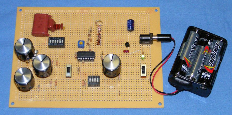 Diy Function Generator Circuit Using Quad Op Amp Function