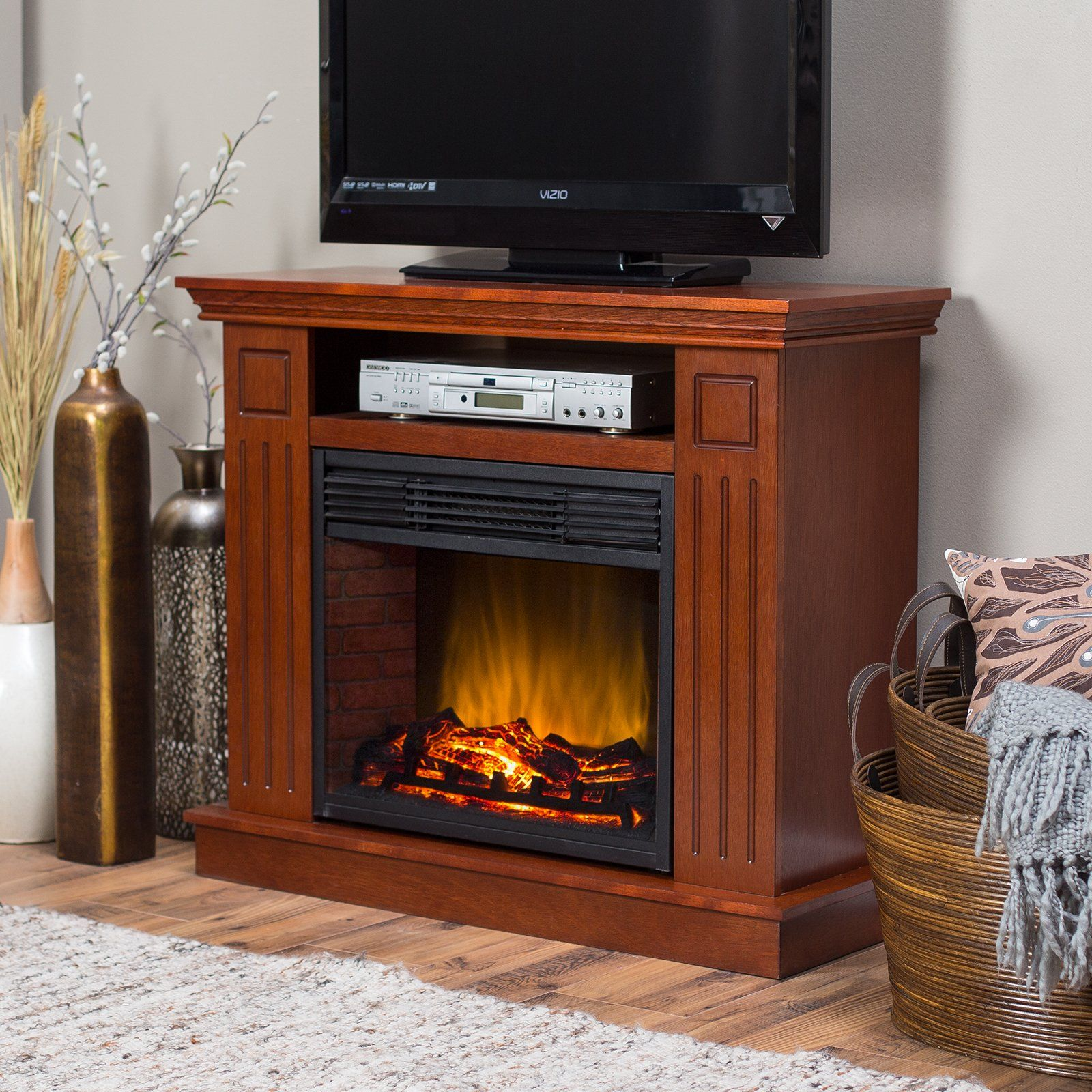 Stunning Ceramic Infrared Fireplace -infrared fireplace costco ...