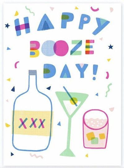 Happy booze day  (Artist.Sarah Walsh)
