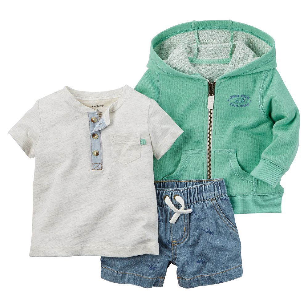 Baby Boy Carter's Chambray Mix & Match Collection