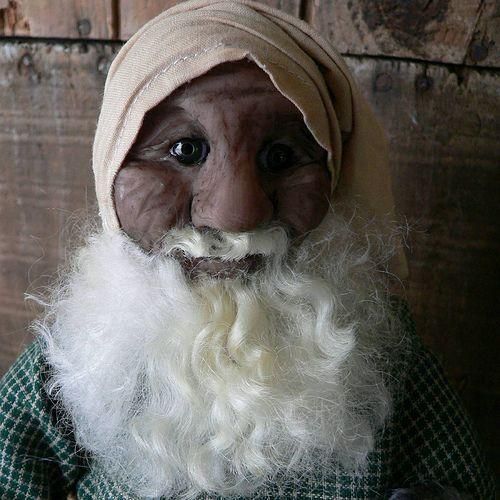 b5d1dba5b2 Nighty Night Primitive Santa