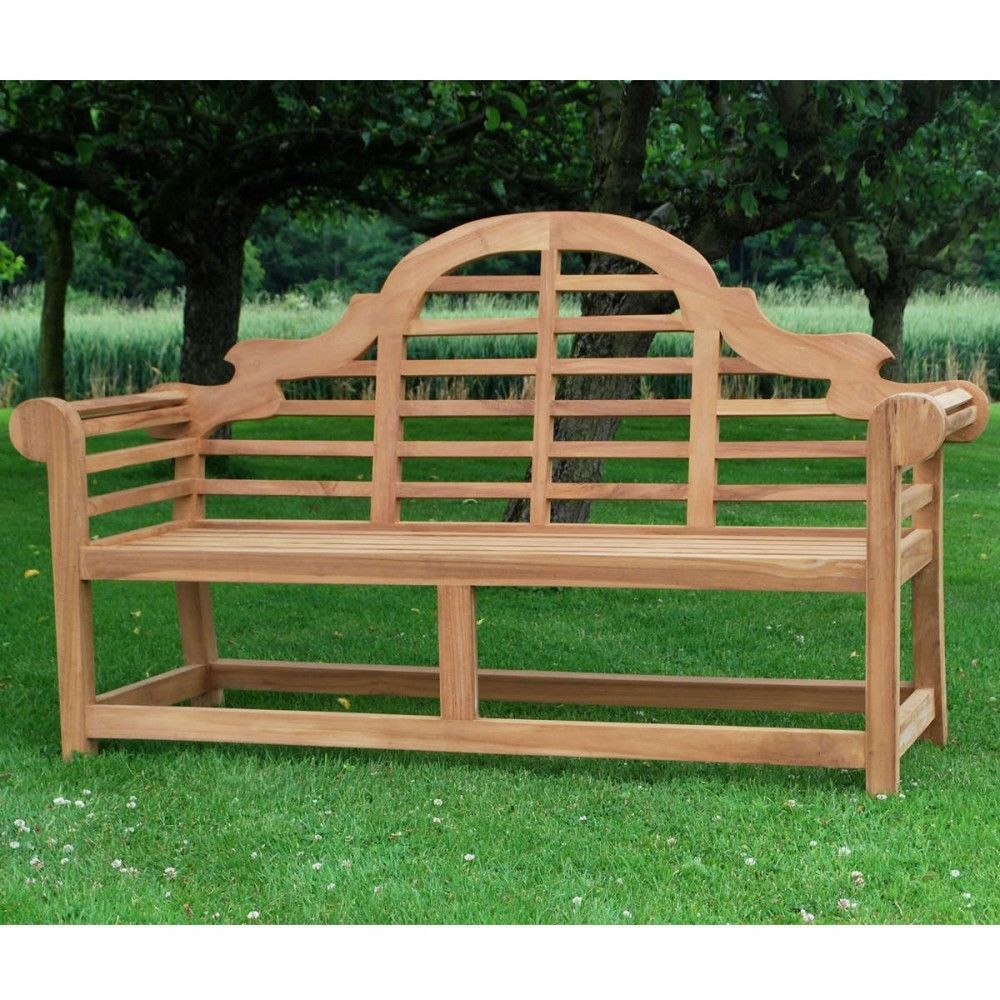 as seen on big brother uk 2017 good quality large 3 seater lutyen style garden bench