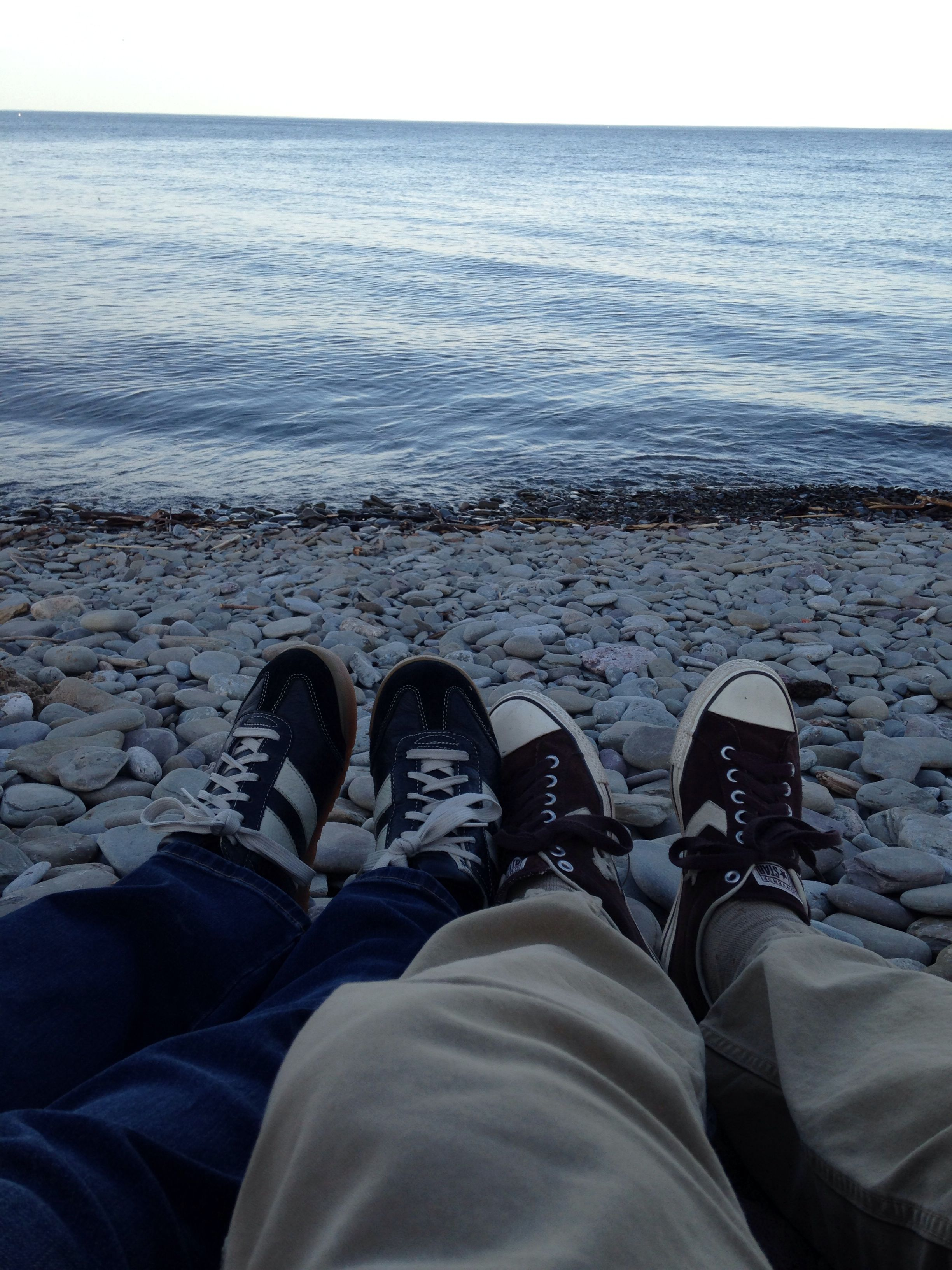 Chillin' out on Lake Ontario