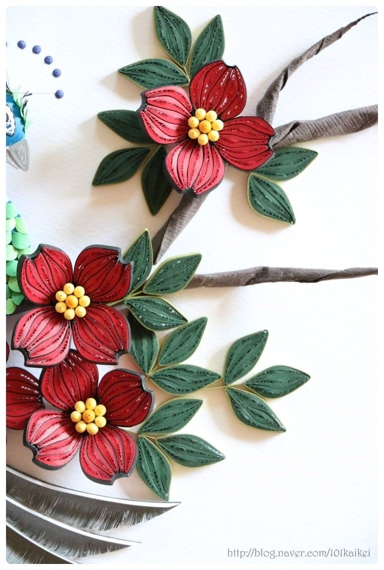 6 Quilled Flowers Pinterest Quilling Paper