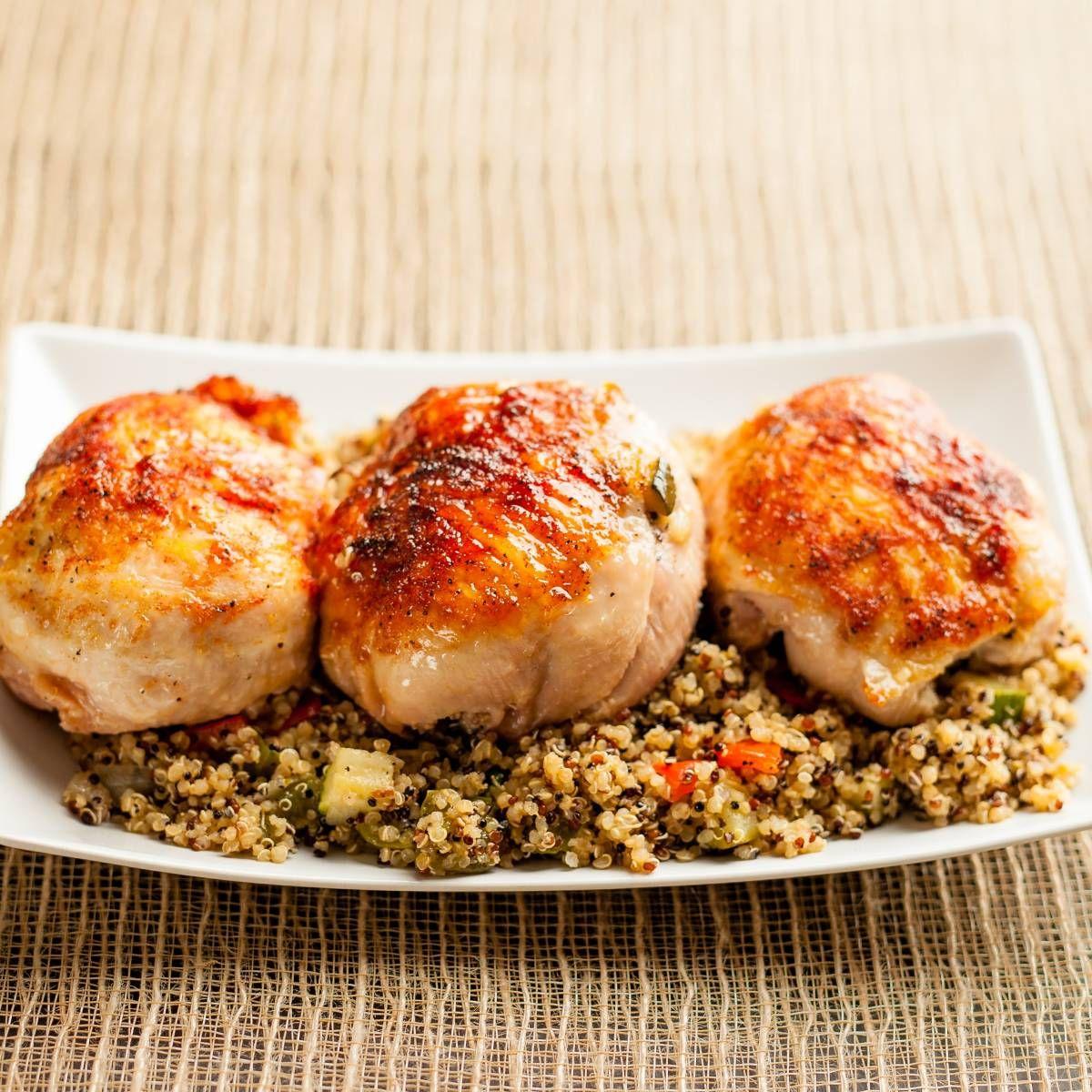 Photo of 8PM: Quinoa Stuffed Chicken Capons
