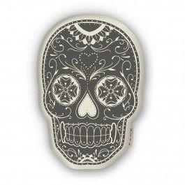Skull Pillow A