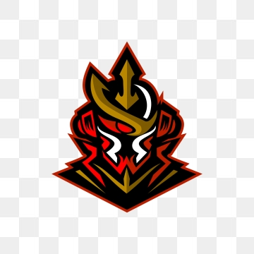 Samurai Esports For Mascot Gaming Or Twitch Symbol Mask Samurai Png And Vector With Transparent Background For Free Download Gambar Serigala Logo Keren Gambar