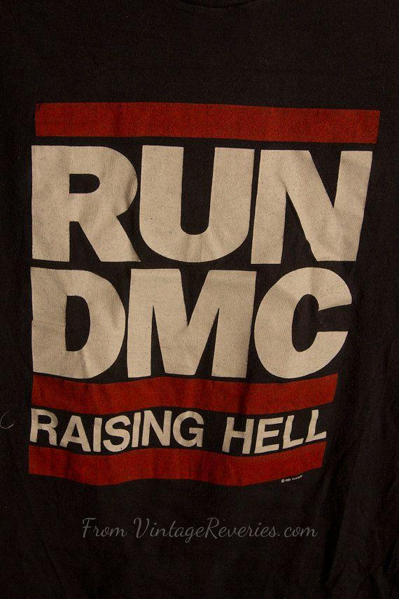 1986 #RunDMC Raising Hell Tour #Tshirt  RARE #1980s $249.00