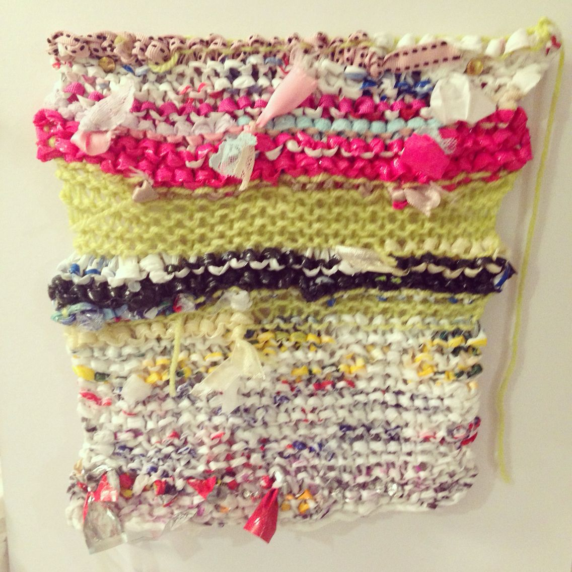 Recycled knitting