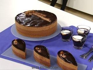 Torta mousse de Almendras   Almond mousse cake