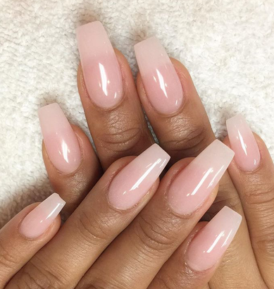 pinjenissa on nail inspo  natural looking acrylic
