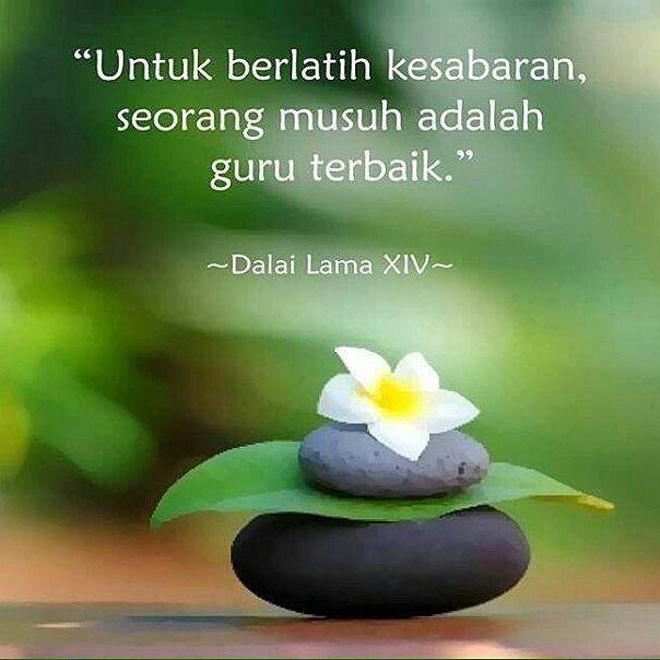 musuh adalah guru terbaik untuk melatih kesabaran buddhisme