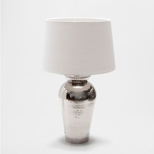 Lampe m tal martel lumi re lampe poser lampe de - Lampe table de chevet ...