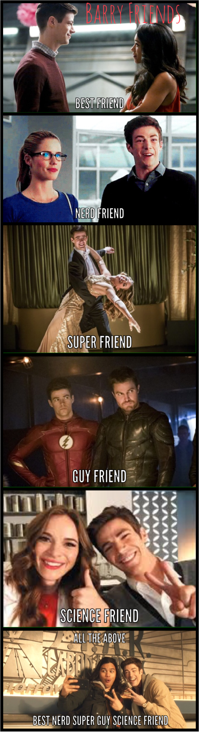 Pin By Roblox Gacha Life On Legends Of Super Flarrow Flash Funny Girl Humor The Flash Grant Gustin