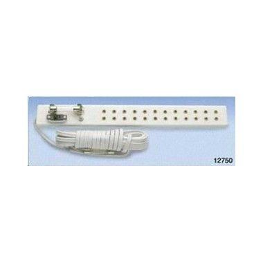 Barrette du0027alimentation 12 prises avec cable et fusibles MATERIEL