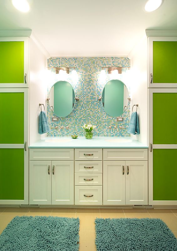 Modern Jack And Jill Bathroom By Olamar Interiors Jack