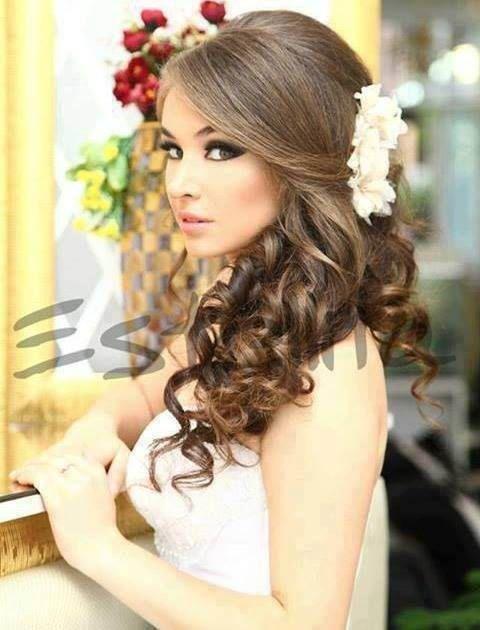 Peinados para novias pelo suelto trenza buscar con - Peinados recogidos con trenzas ...