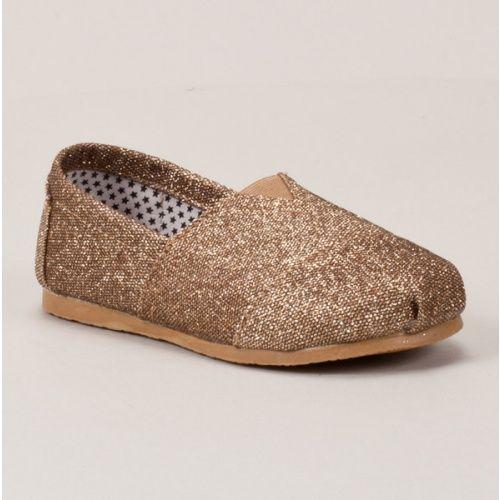 Glitter Slip On Shoe
