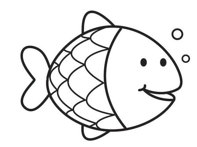 Pin Van Ceycey Op Karışık Kleurplaten The Rainbow Fish En