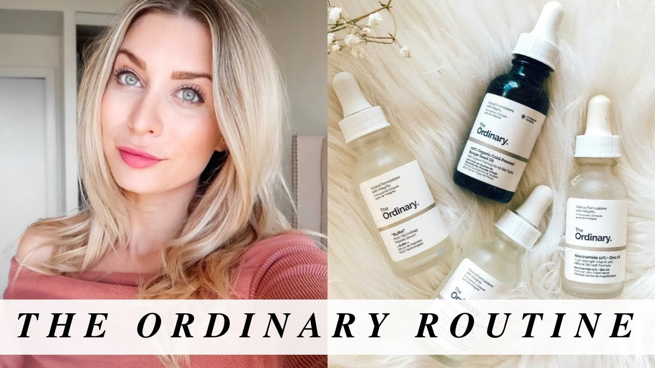 The Ordinary For Acne & Anti Aging Everyday Skincare