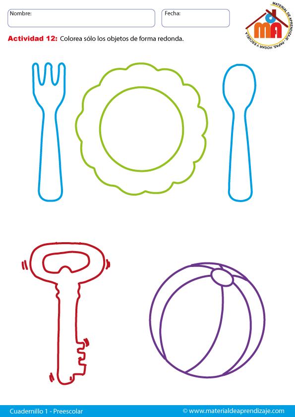 Formas redondas: Preescolar | Haur Hezkuntza | Pinterest ...