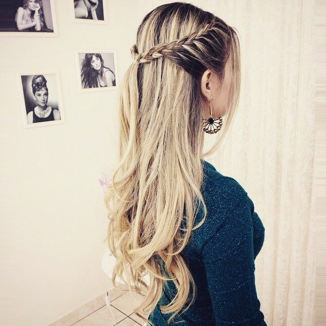 25 Easy Hairstyle Ideas For School With Hairstyle Hair Styles Long Hair Styles Easy Hairstyles