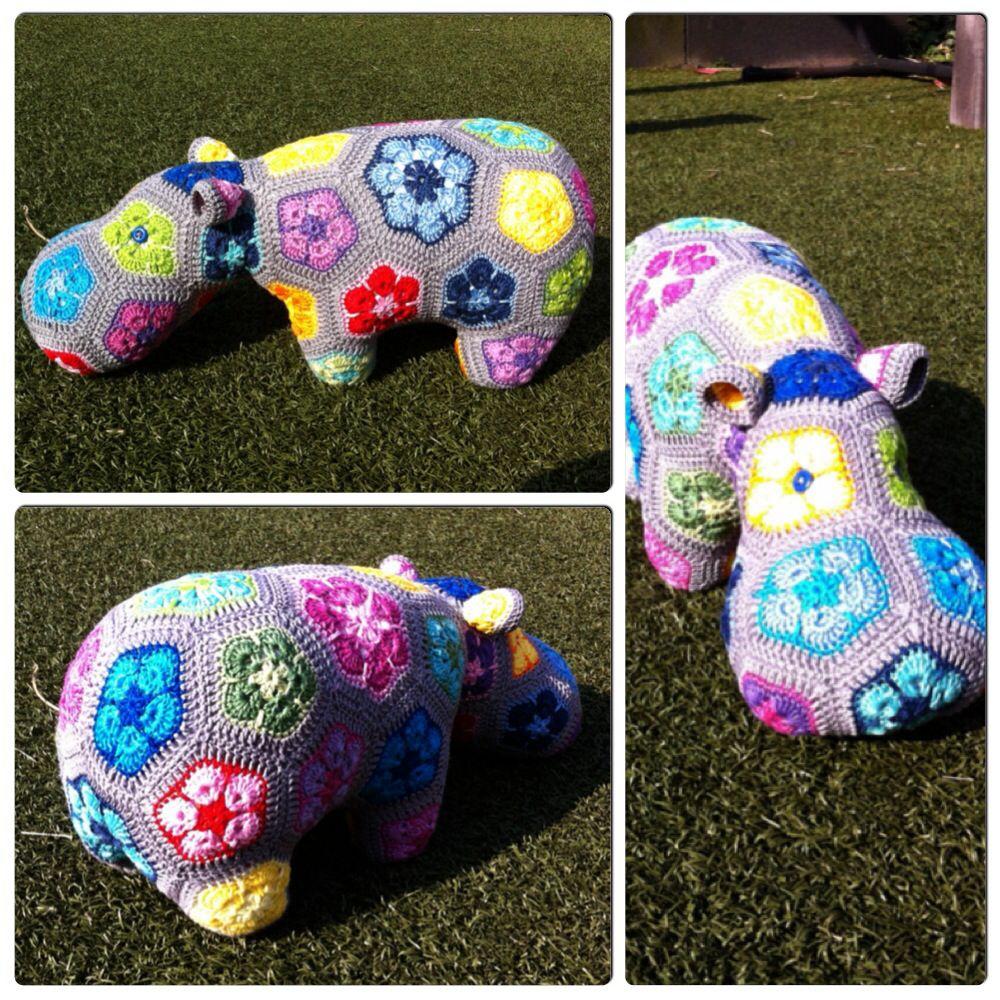 Homemade happy Hippo!