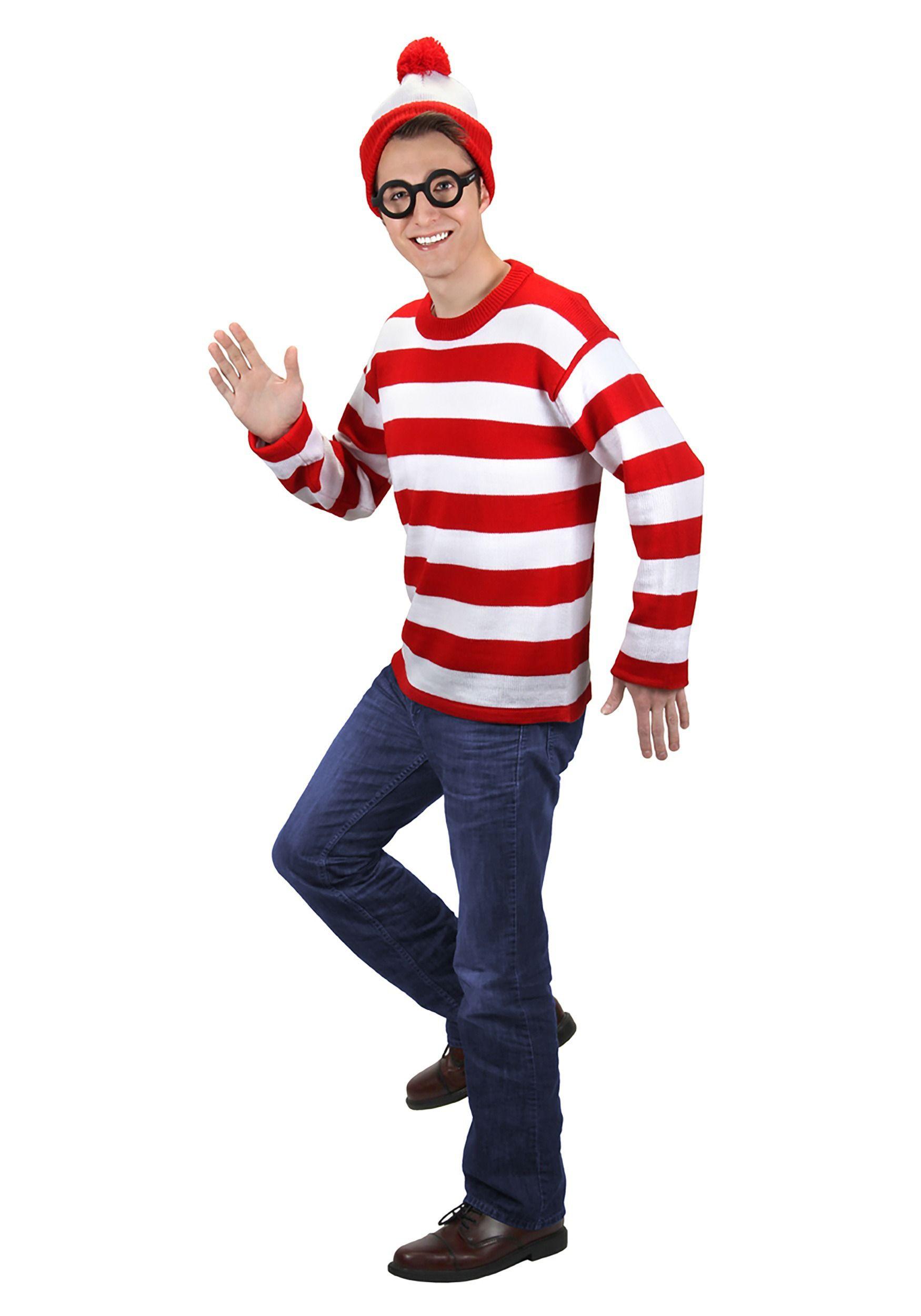 0e35c348a91 Deluxe Plus Size Where s Waldo Costume