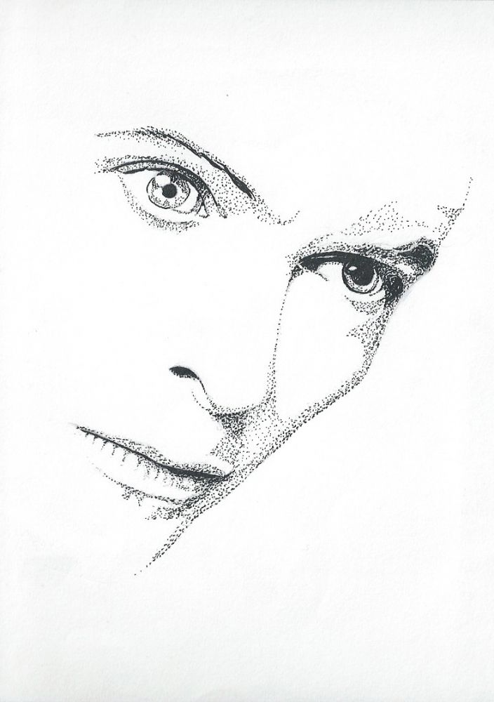 David+Bowie+by+marc.s