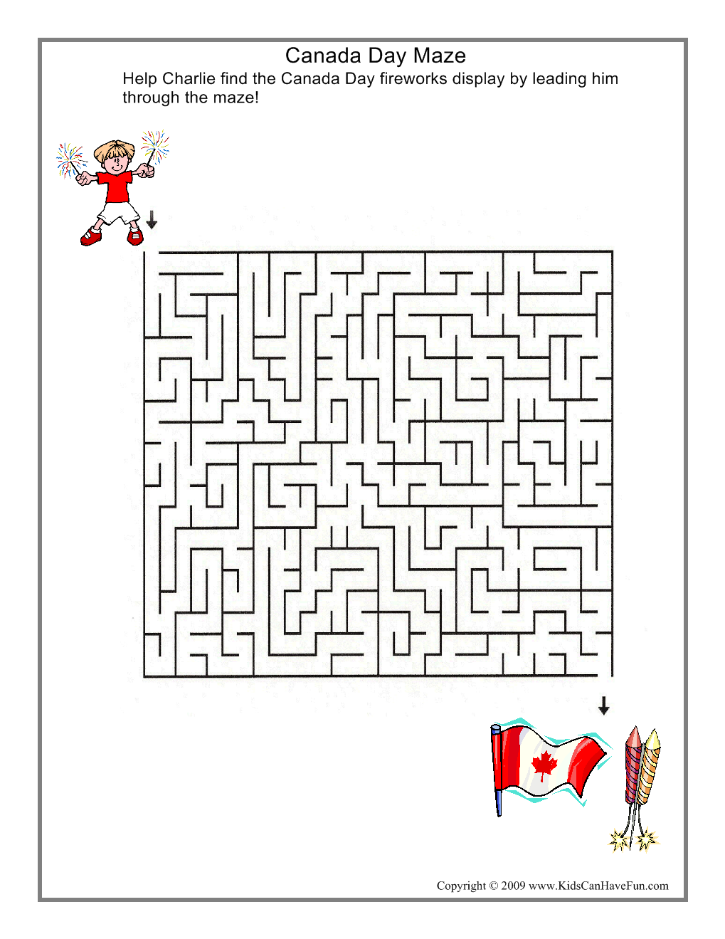 Canada day activities for the kids to help celebrate with coloring pages games crafts writing paper bookmarks and more