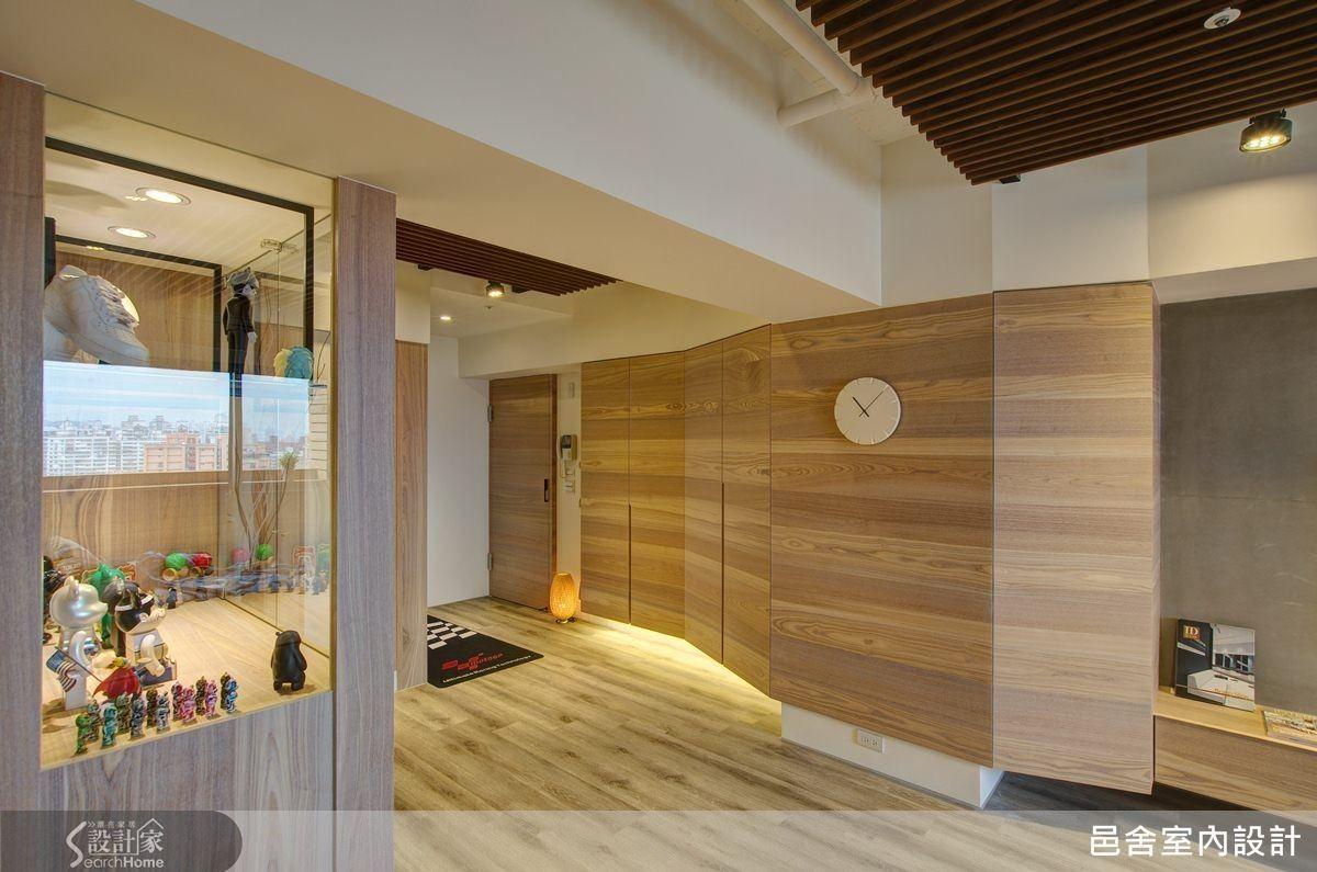 老屋變新房 兼顧兩代人的量身改造 Interior Home Decor Room Divider