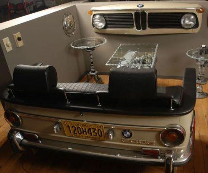 automobel car parts furniture pinterest m bel auto m bel and m bel aus autoteilen. Black Bedroom Furniture Sets. Home Design Ideas