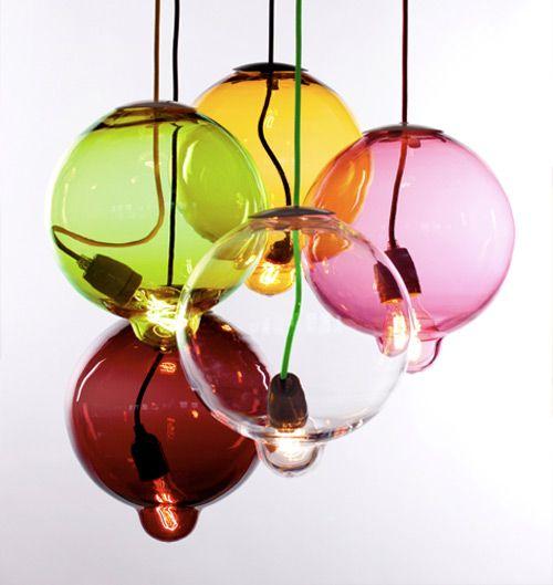 Schonheit In Der Kernschmelze Meltdown Von Johan Lindsten Glas Pendelleuchten Lampendesign Glaslampen