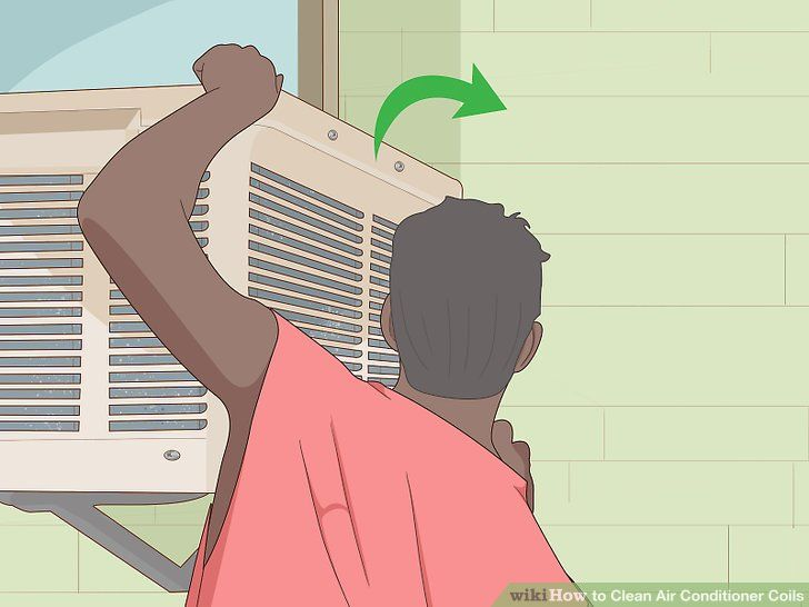 How to clean air conditioner coils 14 steps with