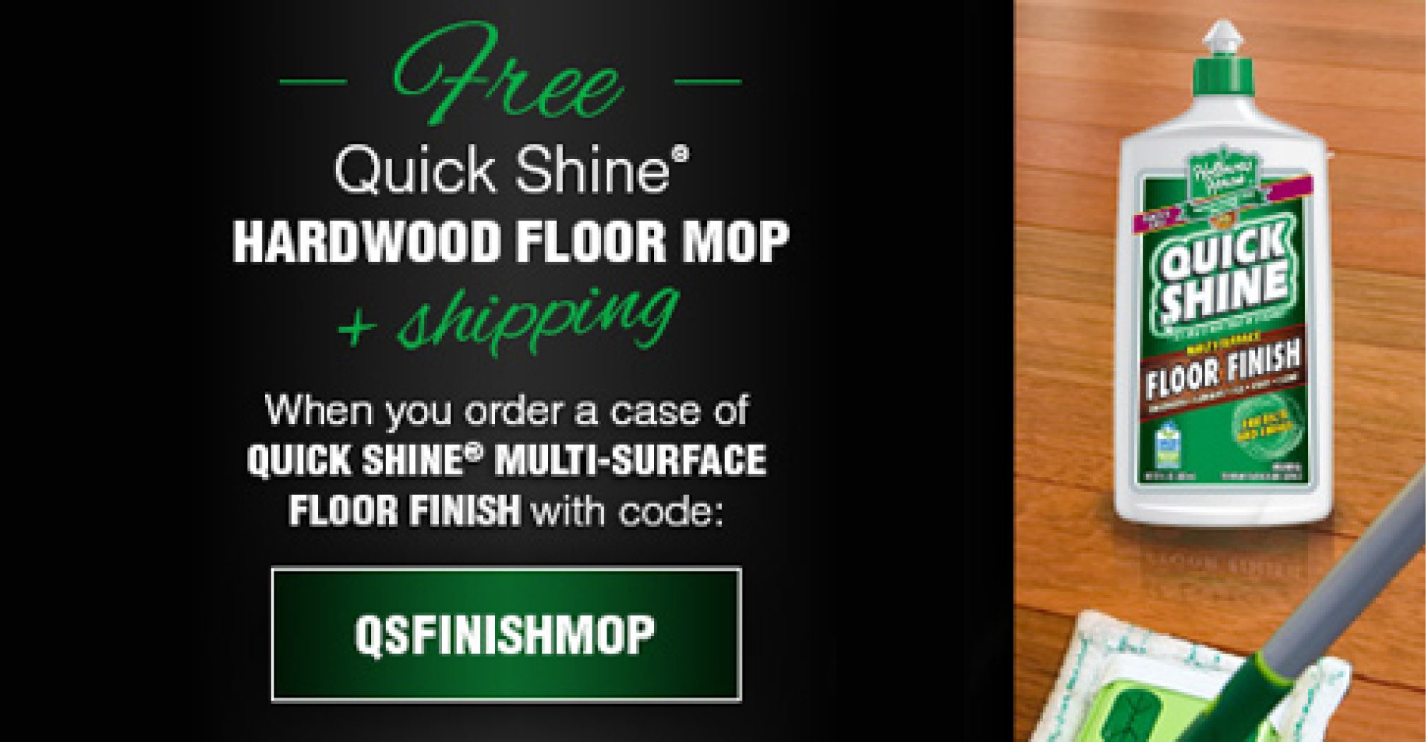 Need a new mop for your hardwoods? Don't miss out on this