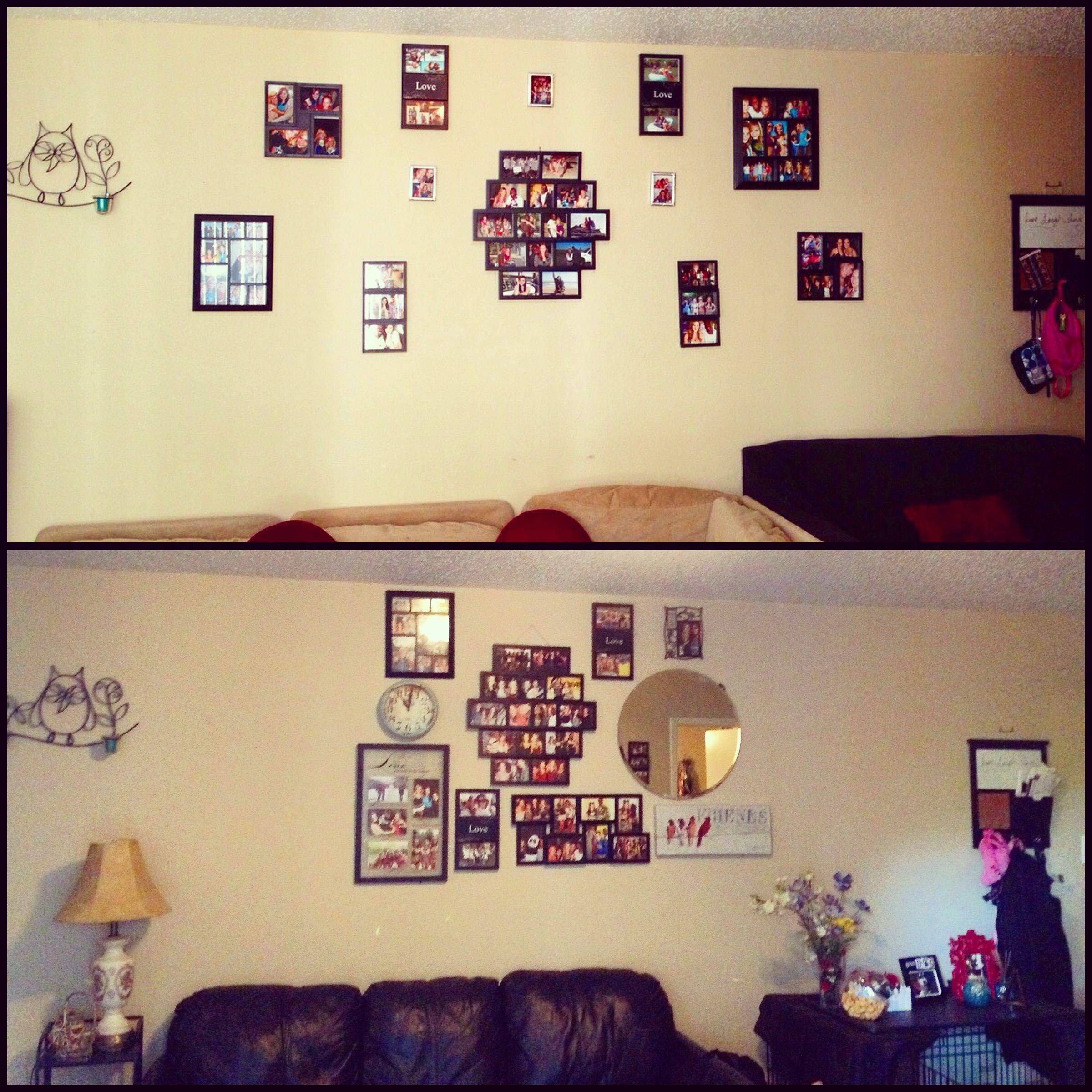 Spring Spruce Up | Wall collage, Spring weather and Pinterest projects