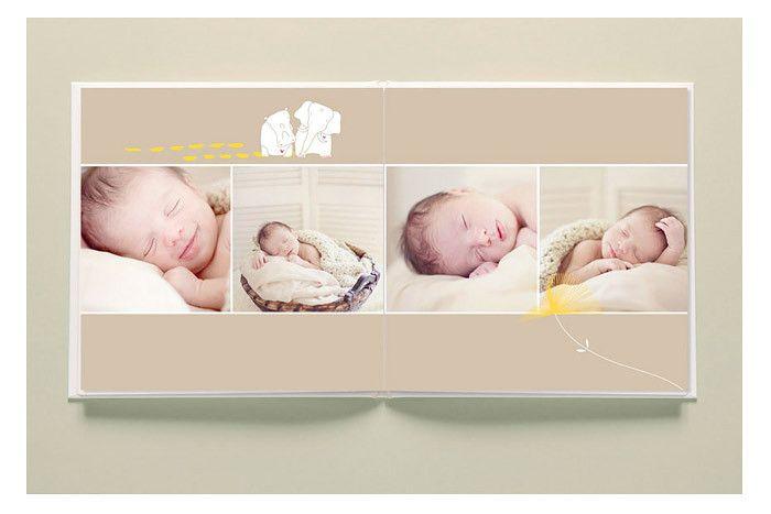 Beautiful Clean Modern Album Design Templates For Professional Newborn And Portrait Photographers The L Album Design Baby Album Design Wedding Album Design