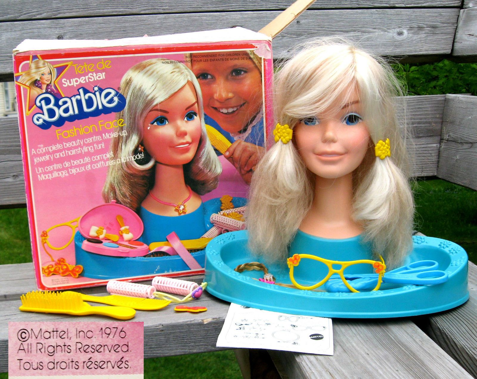 Superstar barbie fashion face 75