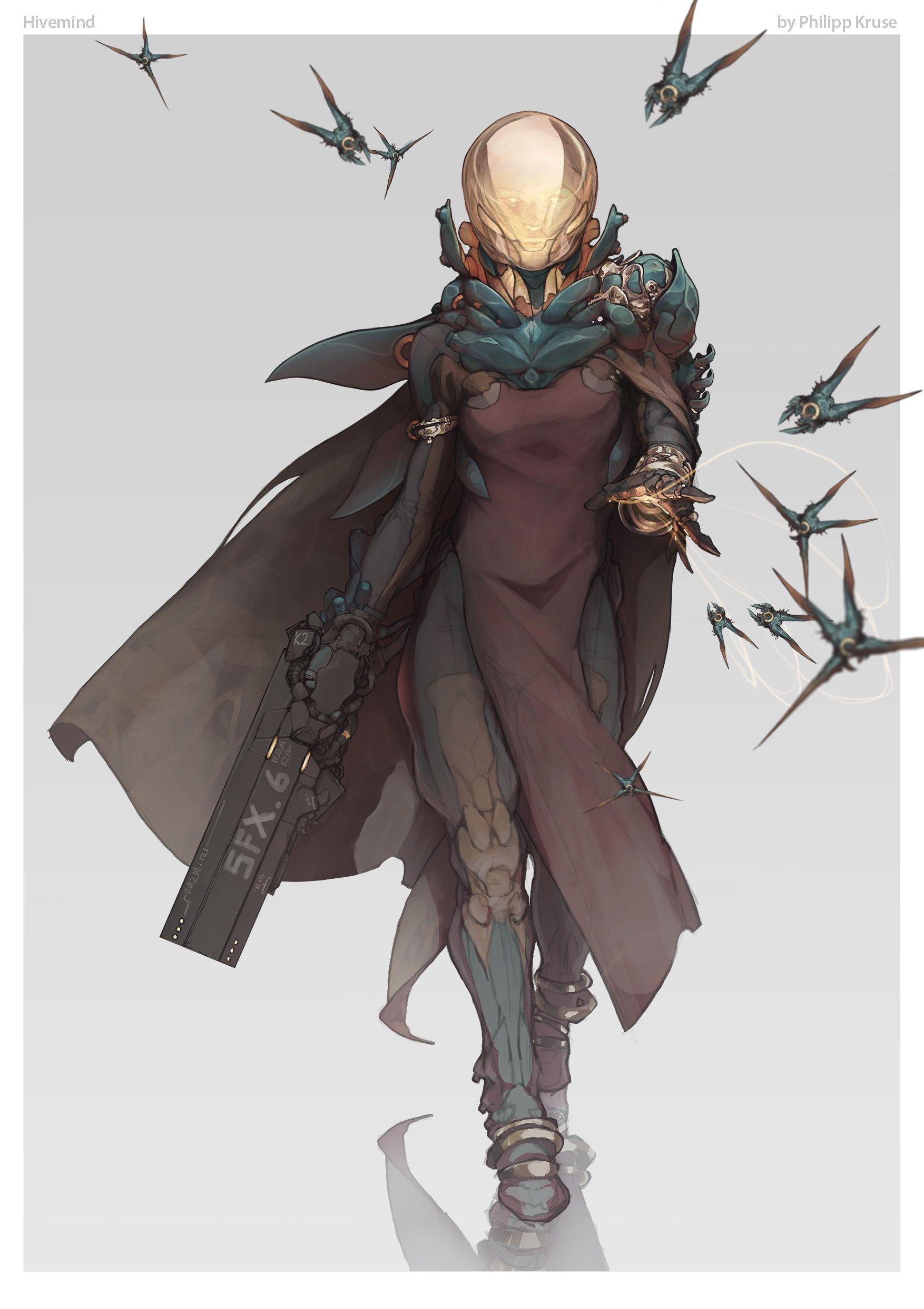 Sci Fi Cyberpunk Character Design