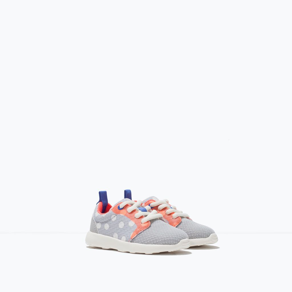 Baby Para Kids Dot Sneakers Zapatos Zara Pinterest Polka BIwTxTq0