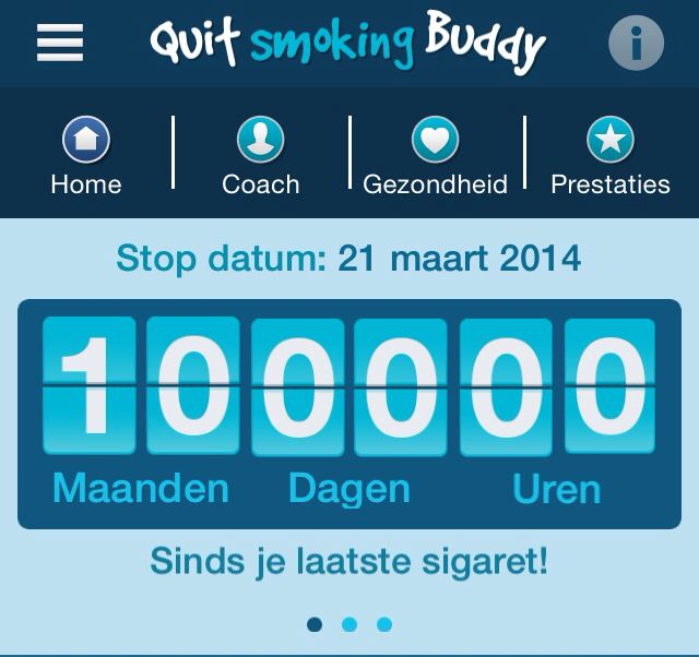 I quit smoking for 10 months now! Proud:) With help from the Rookstoppoli  Beverwijk. www.nederlandstoptmetroken.nl