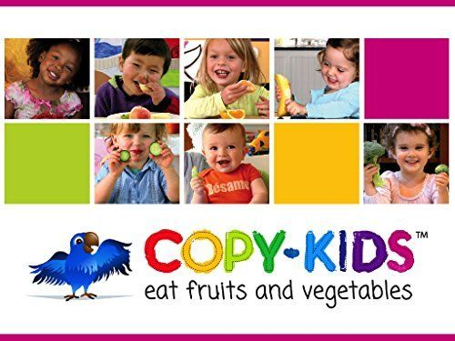 Copy Kids- Video modeling- Children eating fruits and veggies Free - copy children's abc coloring pages