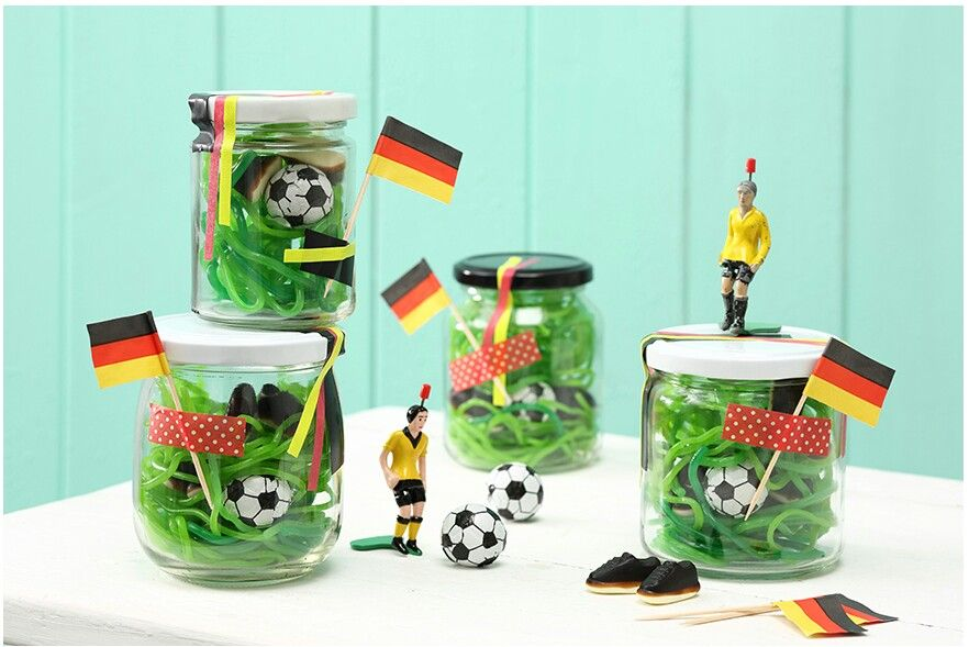 Coole Idee Mitgebsel Fußballparty, Kindergeburtstag etc.