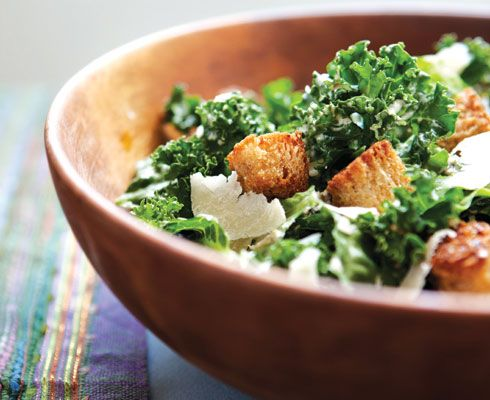 "Kale ""Caesar"" Salad"
