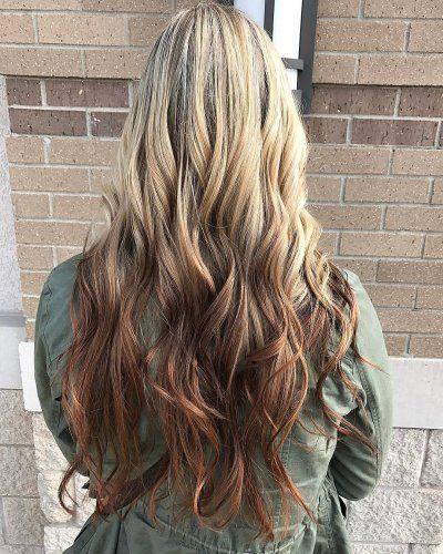 Reverse Ombre Hair Color 2018 Reverse Ombre Hair Color Pinterest