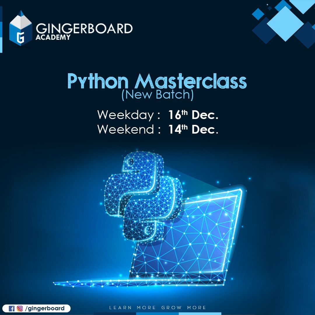 Python Masterclass (With Images)