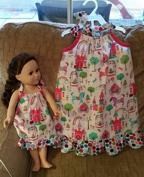 Dress top and matching doll outfit. Simplicity pattern 1472. This ...